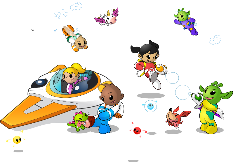 Little Space Heroes hero image